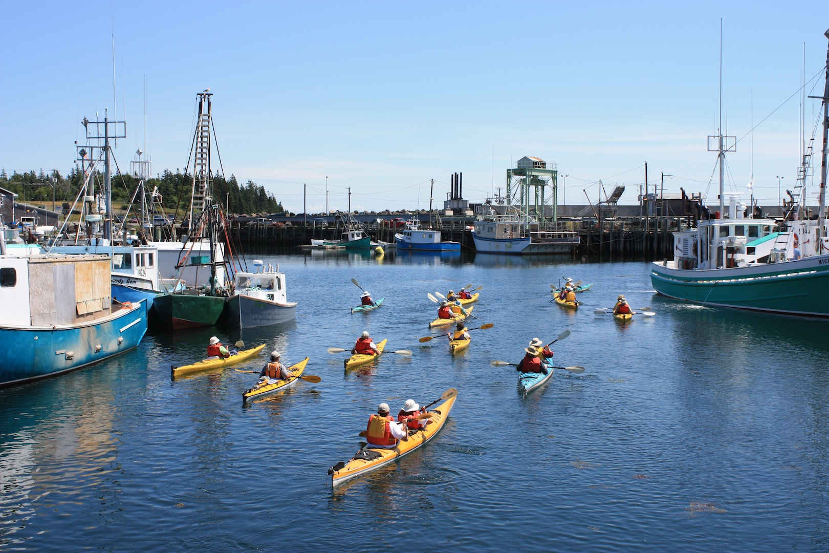 Kayaking-warf