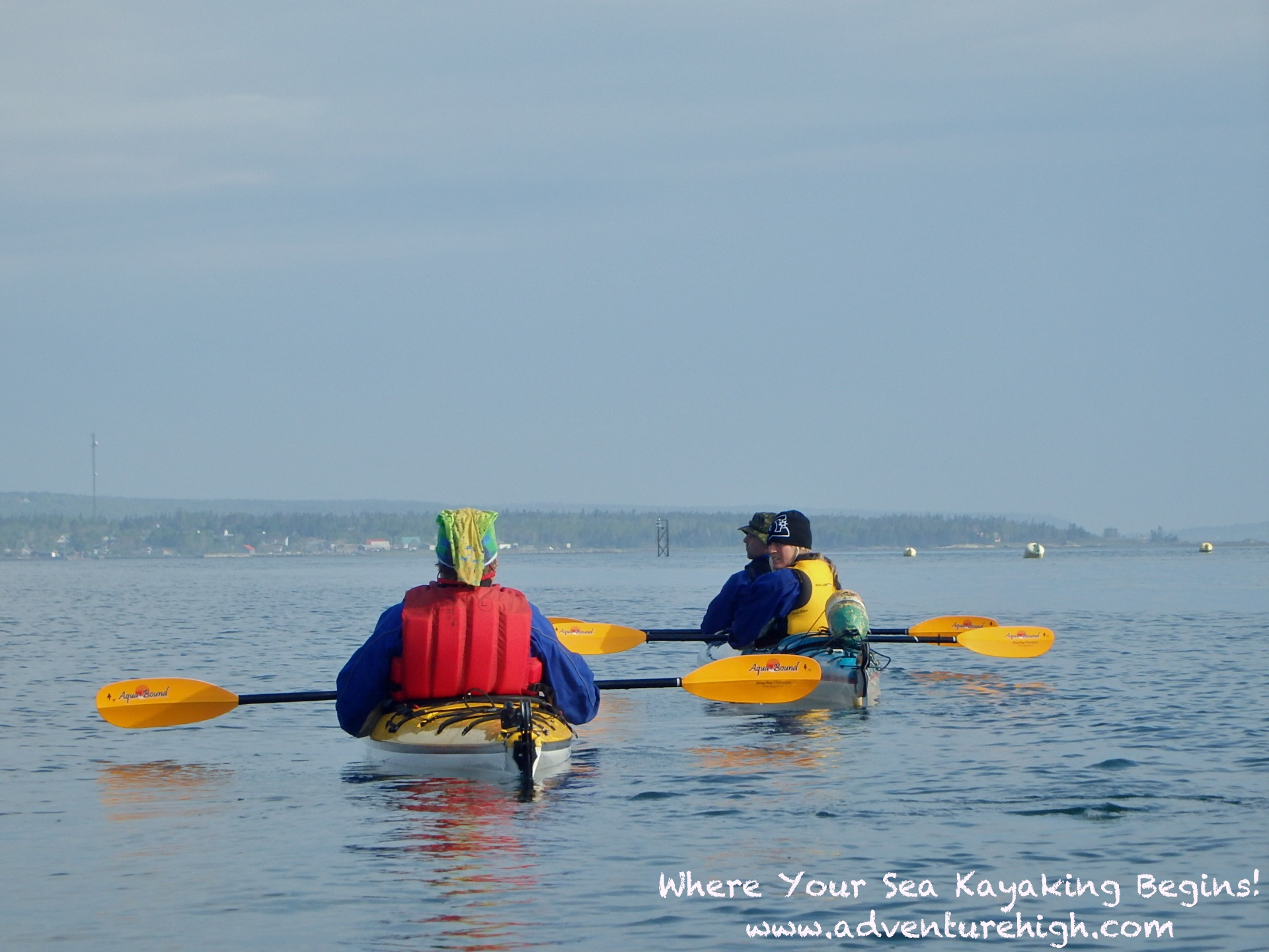 Seakayaking OutwardBound enjoy