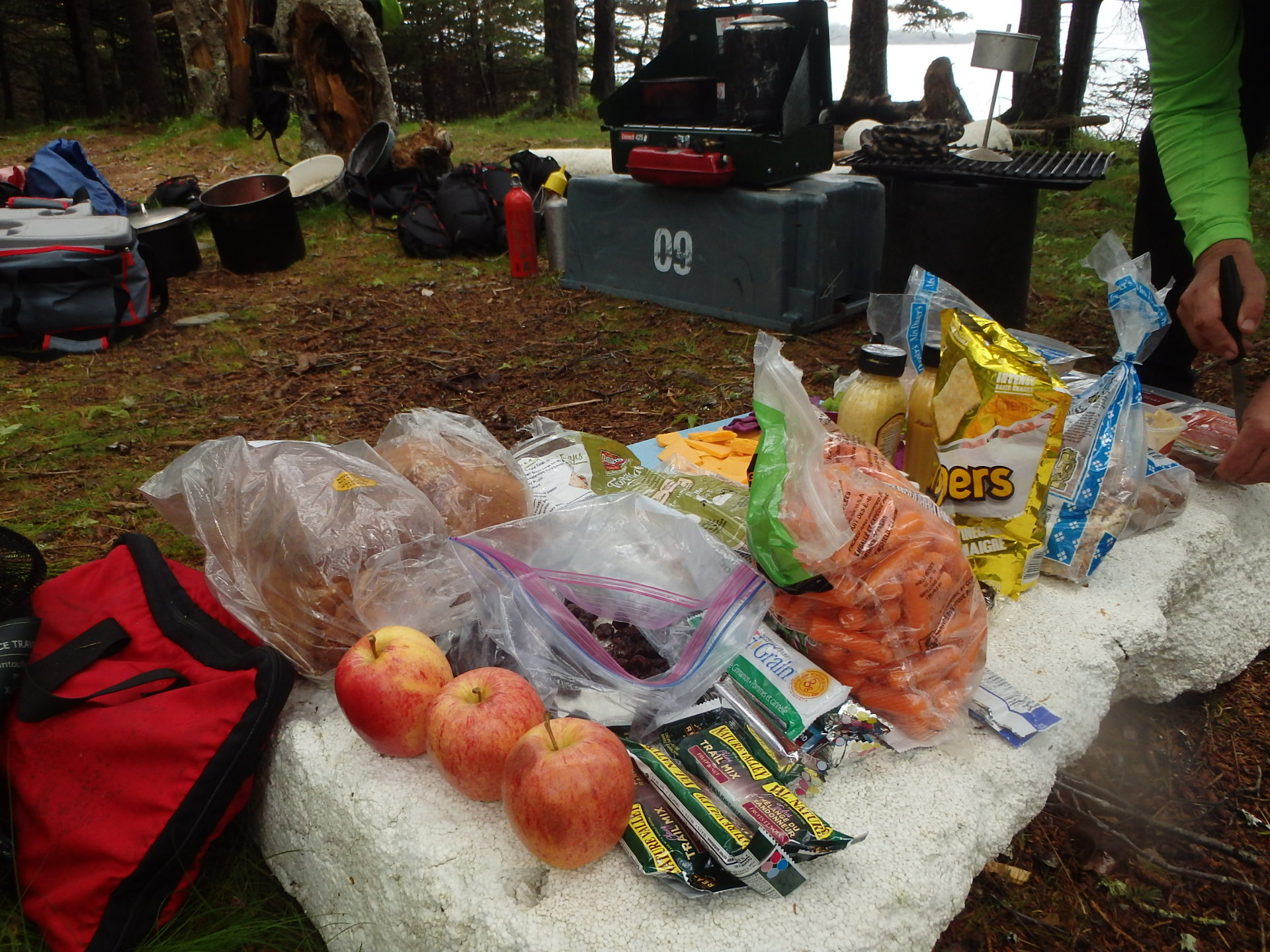 Seakayaking OutwardBound gourmet