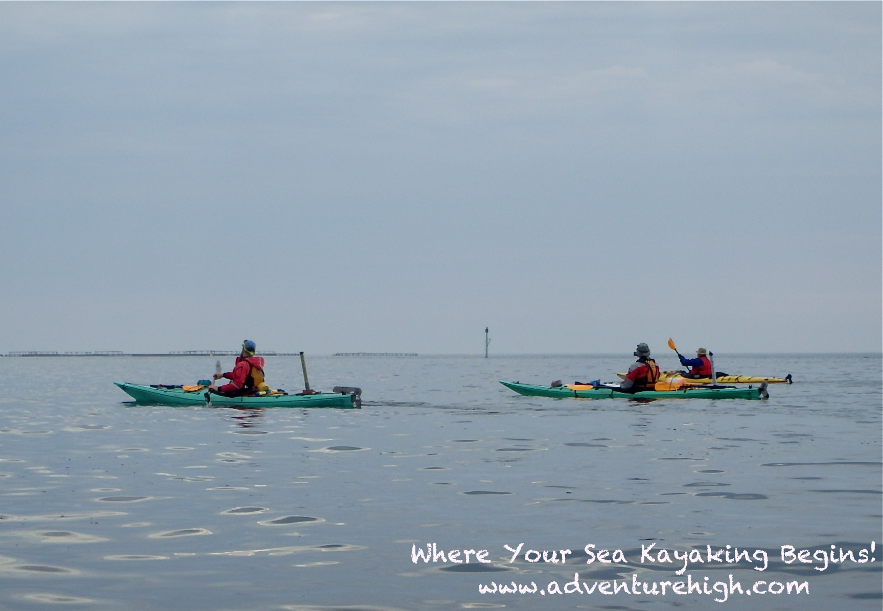 Seakayaking OutwardBound paddling