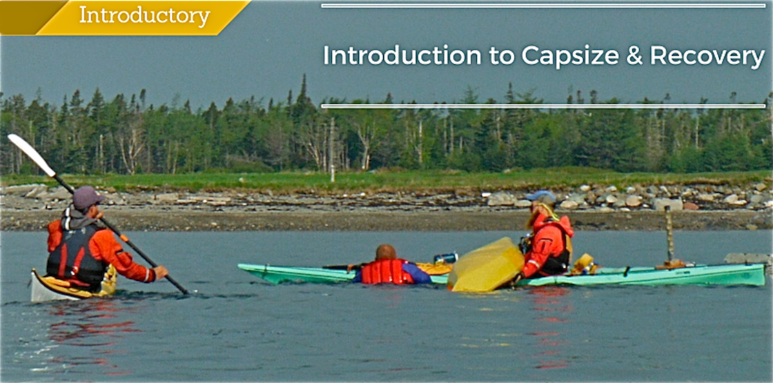 sea kayaking Introduction to Capsize Recovery